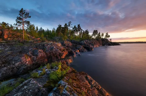 озеро Ладога, Карелия