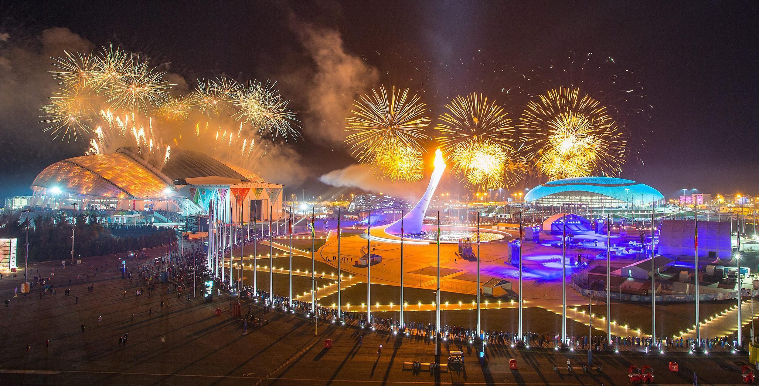 Новогодние праздники в Олимпийском Сочи